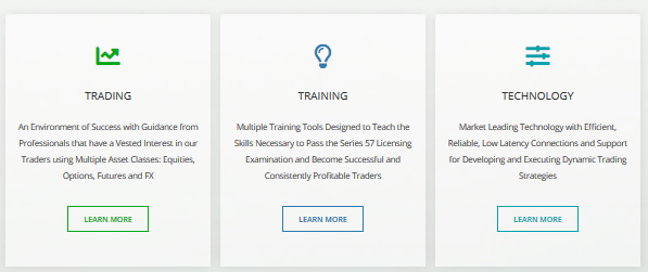 t3 trading group main page