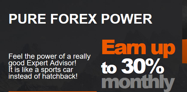 powerful forex main screen