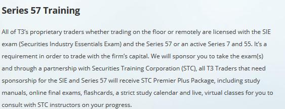 Series 57 Training