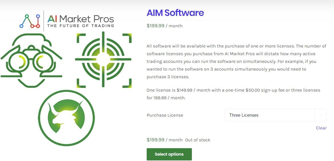 ai market pros pricing