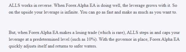 forex alpha trading strategy