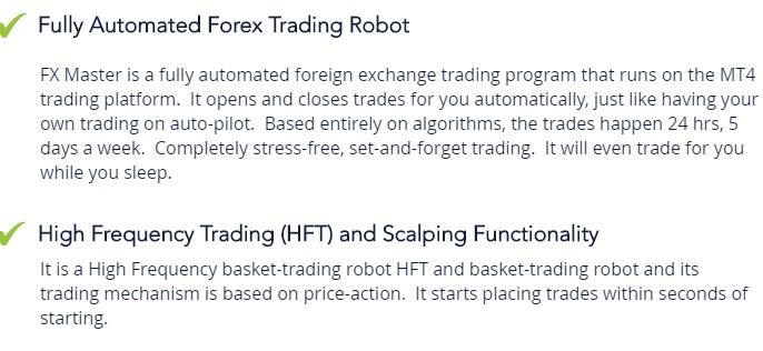 killa gorilla forex trading robot features