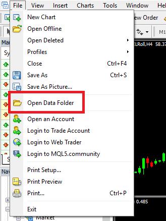 """""""Open Data Folder"""""""