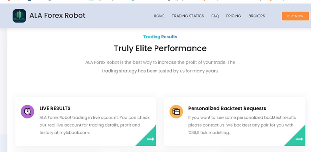 ALA Forex Robot Trading Strategy