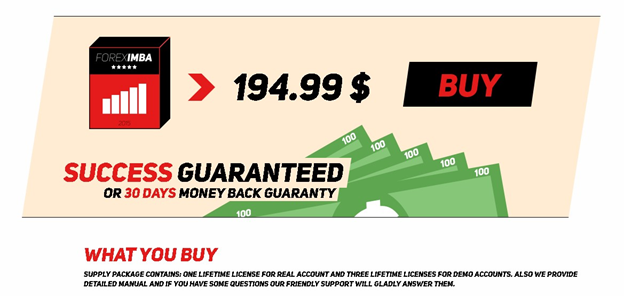 ForexIMBA Price