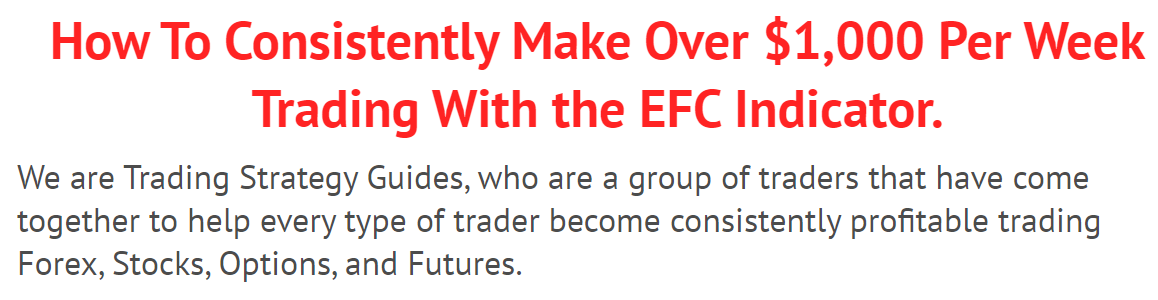 EFC Indicator Trading Strategy book