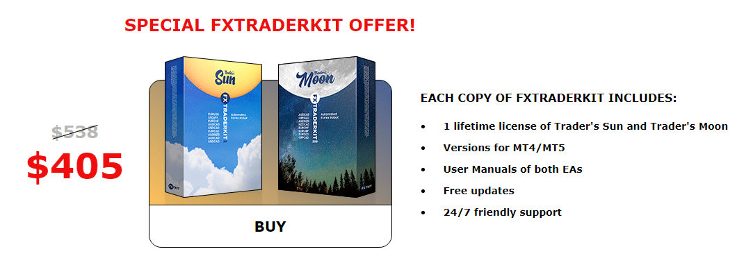 Trader's Moon Product Offering