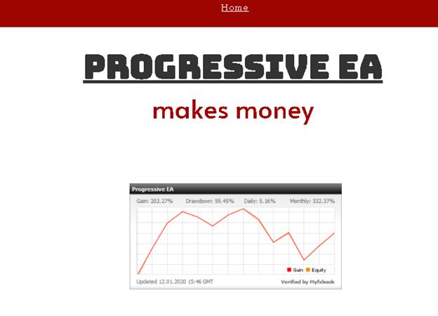 Progressive EA Myfxbook