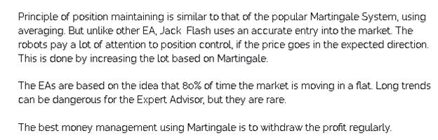 Screti Forex Robot Trading Strategy