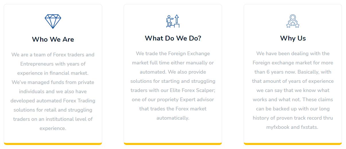 Elite Forex Scalper features