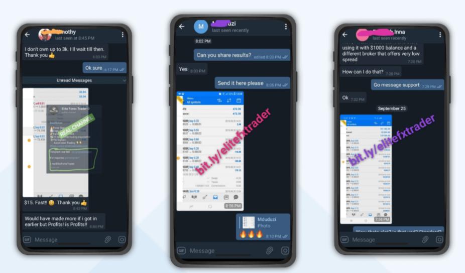 Elite Forex Scalper - Telegram channel