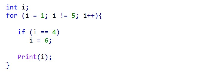 You can declare and use an iteration variable prior to the FOR statement.
