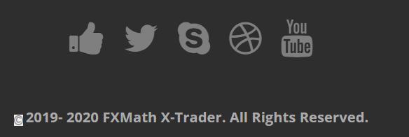 FXMath X-Trader social network profile