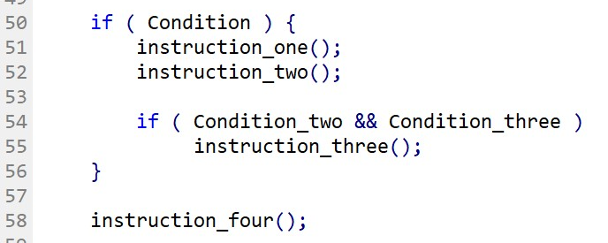 Nested if-Statement