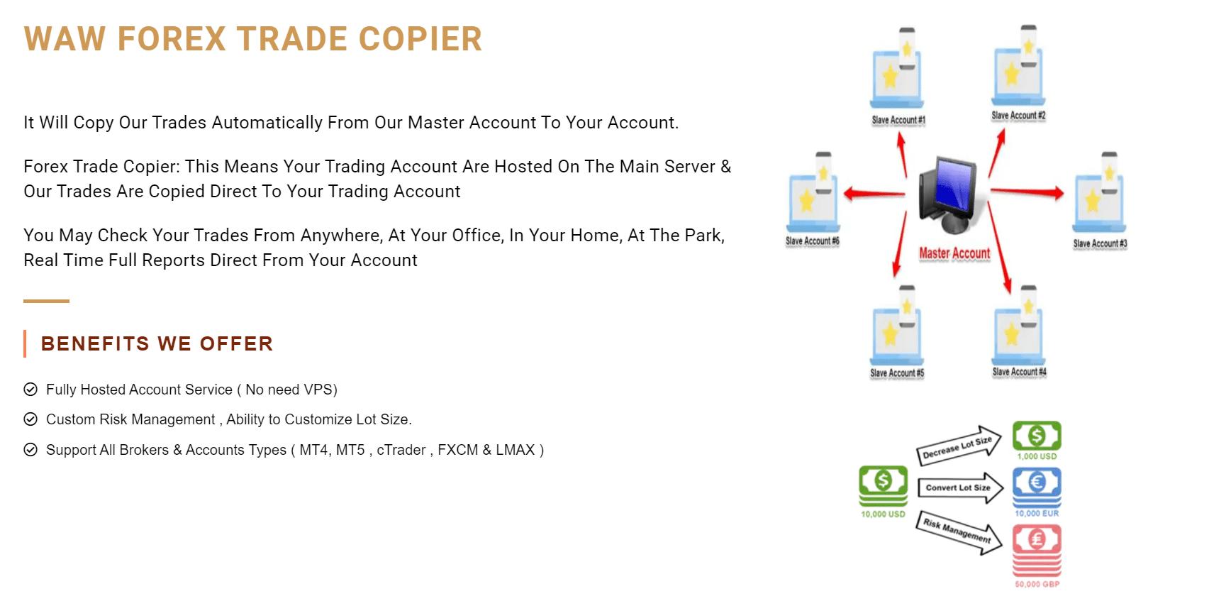 Waw Forex trade copier