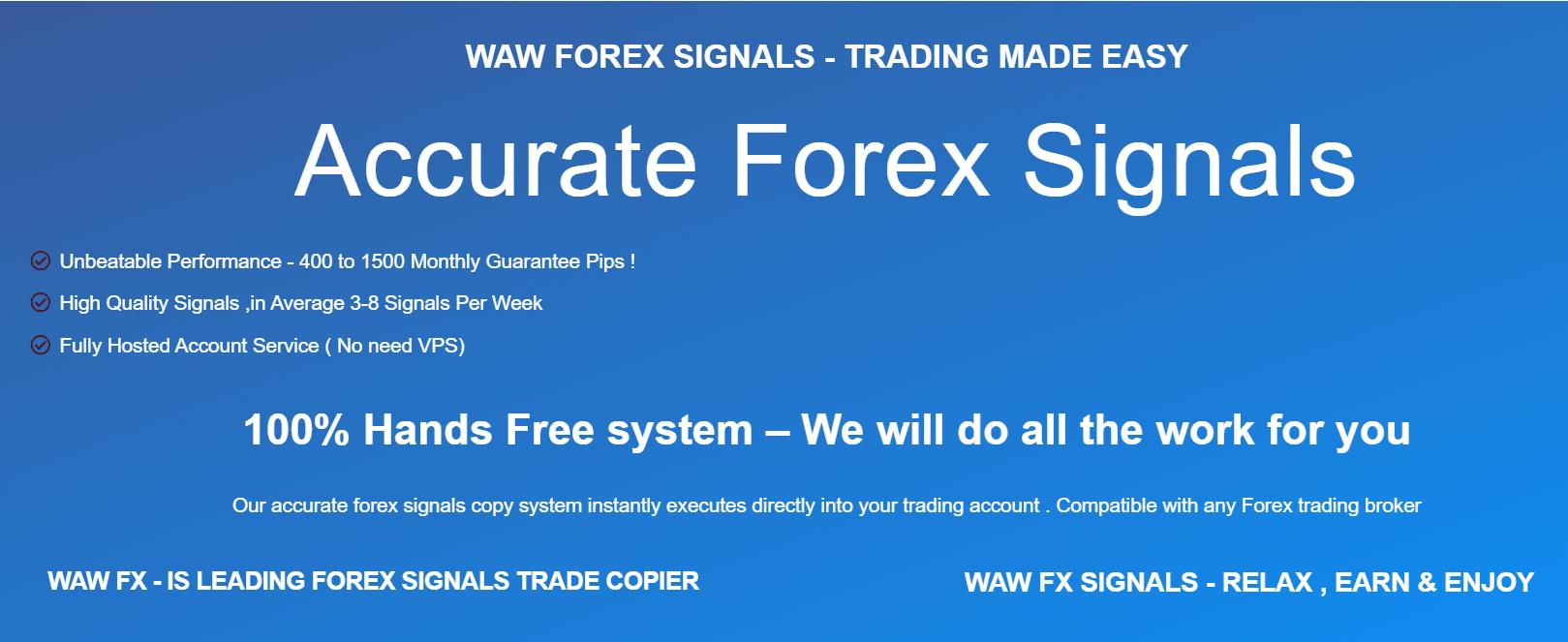 Waw Forex Signals presentation