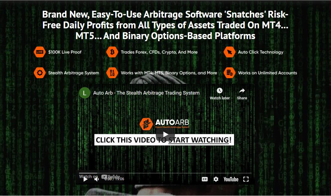 AutoArb presentation