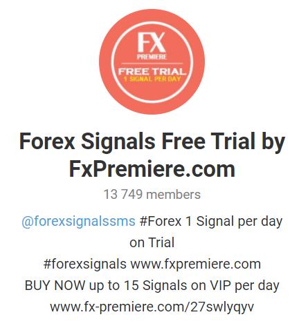FX Premiere Telegram channel