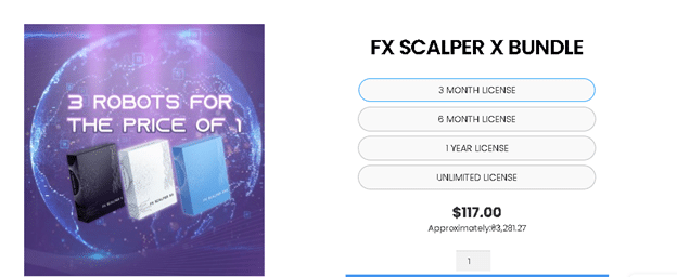 FX Scalper X price