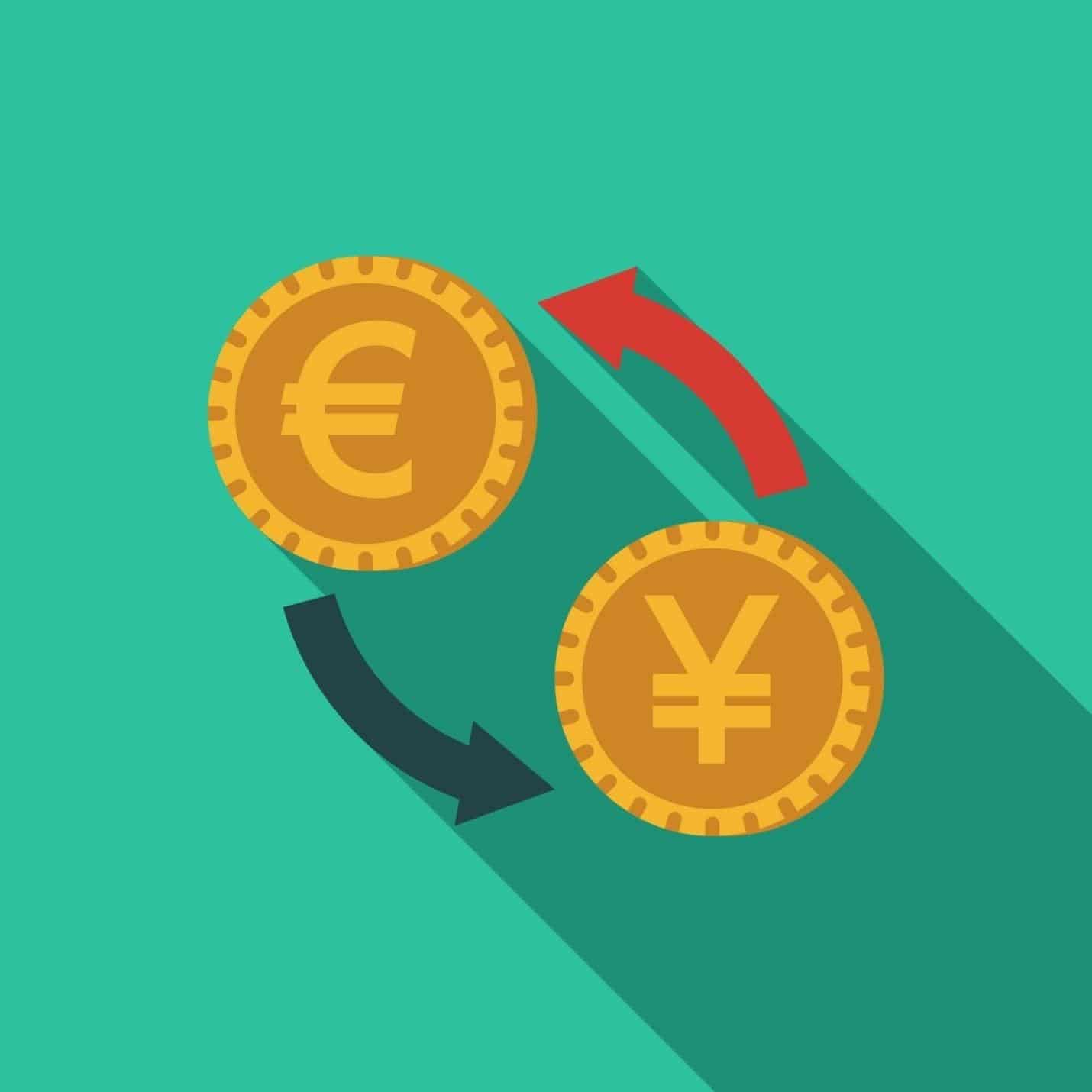 Currency swap types