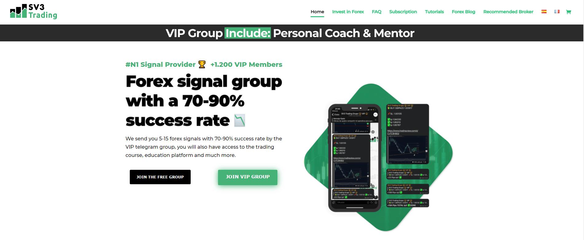 SV3 Trading presentation