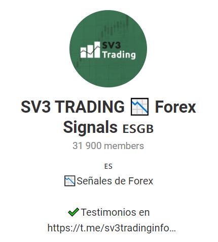 SV3 Trading Telegram channel