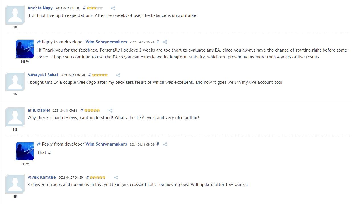 Advanced Scalper Customer Reviews