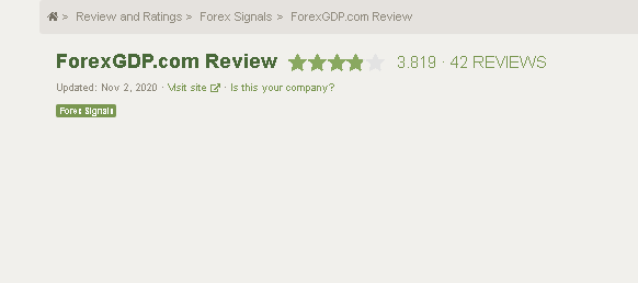 Forex GDP customer reviews