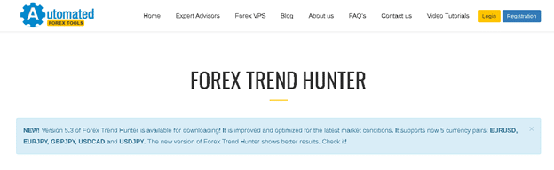 Forex Trend Hunter presentation