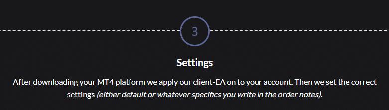 Ohlsen Trading - settings