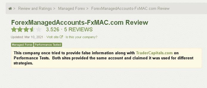 FxMAC Customer Reviews
