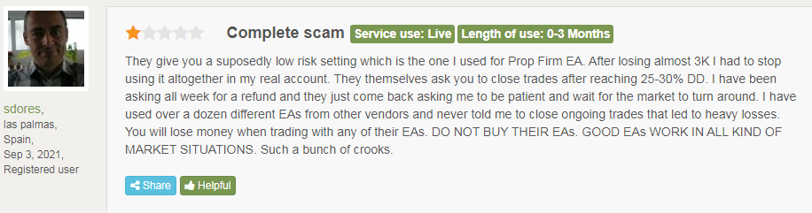 Client saying My Ea Academy.com is a scam.
